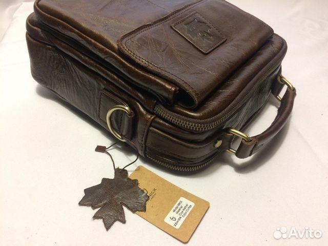 1d82d6fbedce Мужская кожаная сумка: Канада1 купить в Новосибирской области на ...