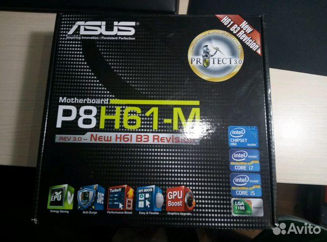 Motherboard asus P8H61-M i3