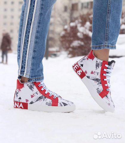 6254cfd0 Кеды зимние Dolce Gabbana | Festima.Ru - Мониторинг объявлений