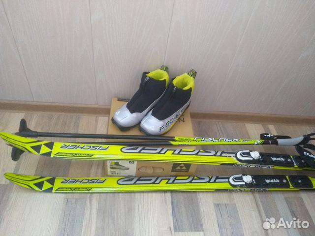 7b95780f8aa3 Детские лыжи купить в Саратовской области на Avito — Объявления на ...
