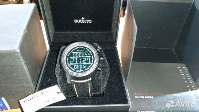 c35d96f3 Часы Suunto Elementum Terra N/Brown Leather | Festima.Ru ...