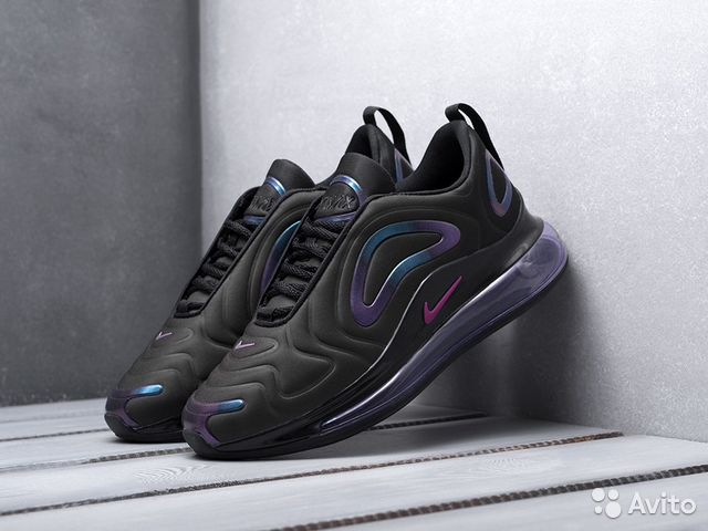 e633d871 Кроссовки мужские Nike Air Max 720 фиолетовые купить в Москве на ...