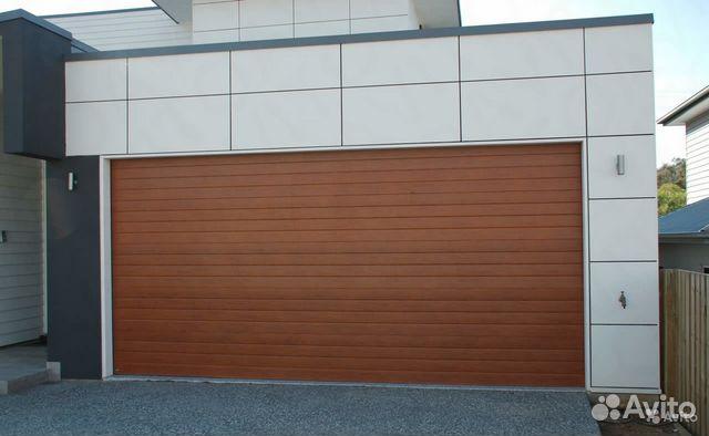 Купить бу подъемные ворота для гаража wader гараж 1 с дорогой купить