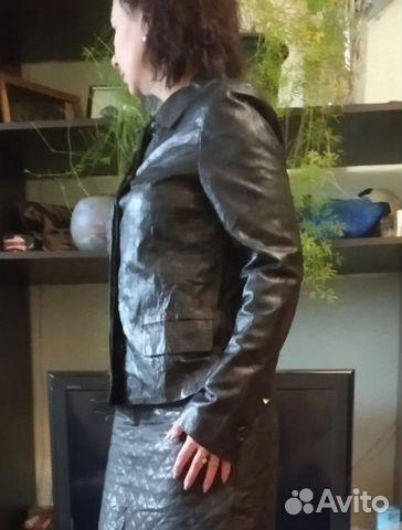Новая кожаная куртка Max Mara