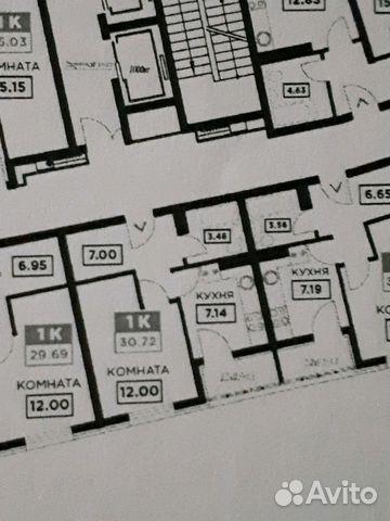 1-к квартира, 31 м², 15/21 эт. 89889664565 купить 3