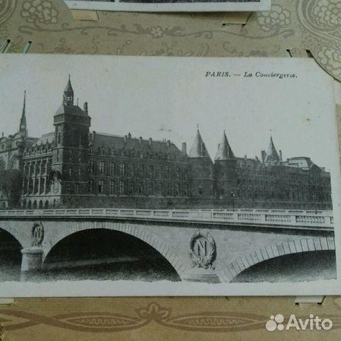 Виды Парижа. Дореволюционная открытка 89219995491 купить 5