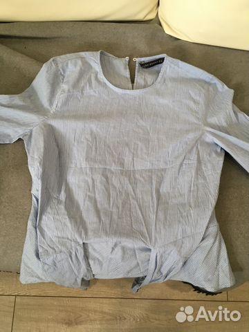 d87702f97e25 Рубашка женская Zara women размер М(мех28)