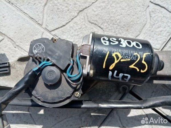 89026196331 Моторчик дворников стеклоочистителя Lexus Gs300