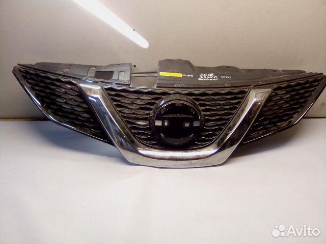 89657347629  Решетка радиатора (Nissan Qashqai)