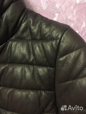 Куртка кожаная демисезонная  89056454254 купить 5