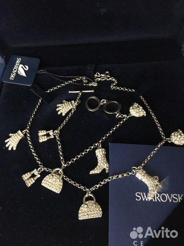 Swarovski колье и браслет оригинал 89818795851 купить 1
