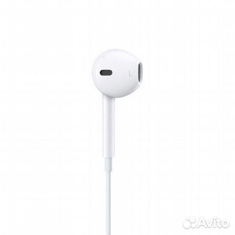 EarPods с разъемом Lightning оригинал (новые) 89789632434 купить 2