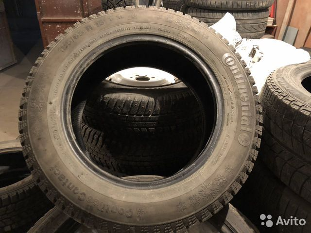 Continental ContiIceContact 195/65 R15