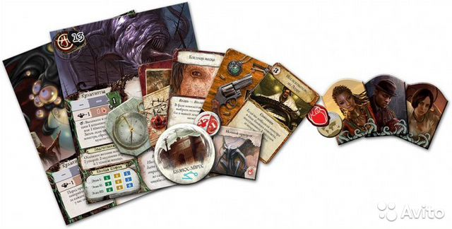 Настольная игра Древний Ужас  89045827115 купить 5