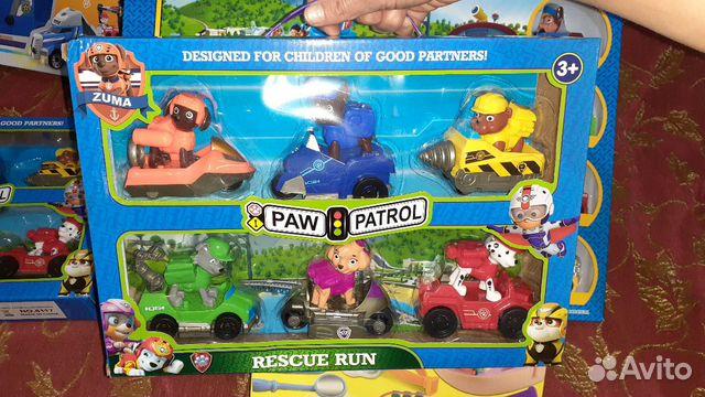 Игрушки щенячий патруль цена киров