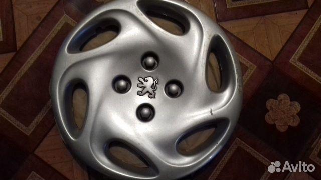 Колпаки Peugeot 14 оригинал, 3 шт., заводские 89616992624 купить 3