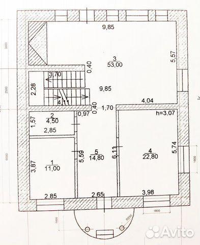 Коттедж 440.6 м² на участке 8.5 сот. 89196751048 купить 5