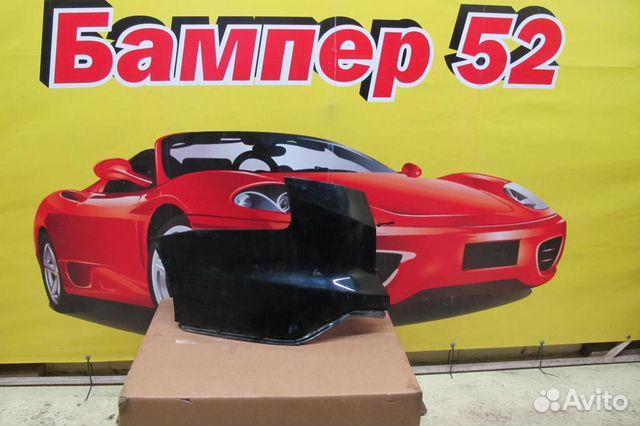 89524408730 Ford Focus III 2011) левая часть заднего бампера