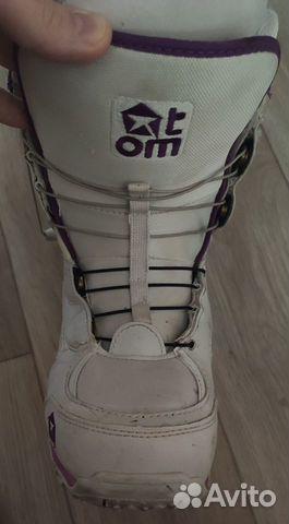 Сноубордические ботинки женские Atom купить 2