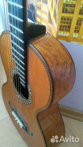 Гитара старинная мастеровая(раритет 1880 года) 89538598168 купить 1