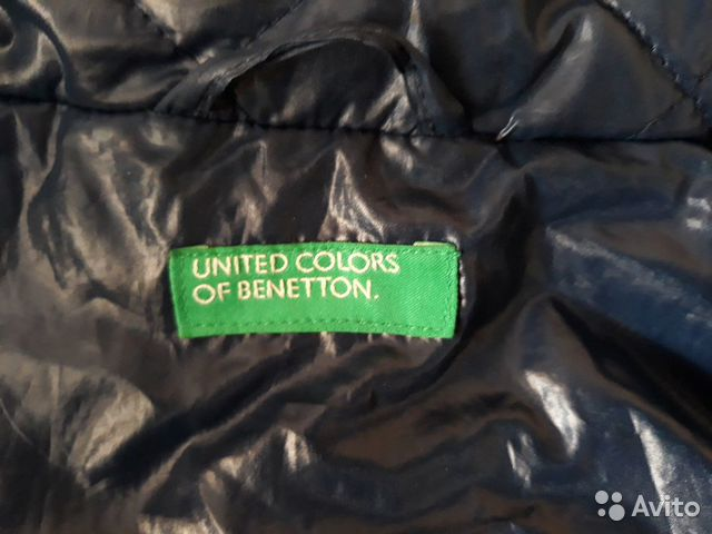 Куртка осенне-весенняя 10-12 лет 160 см Benetton 89814760626 купить 4
