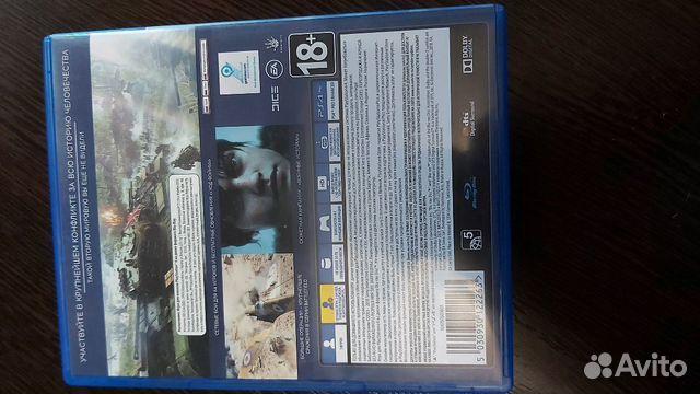 Игра Battlefield 5 для Playstation 4  89243158065 купить 2