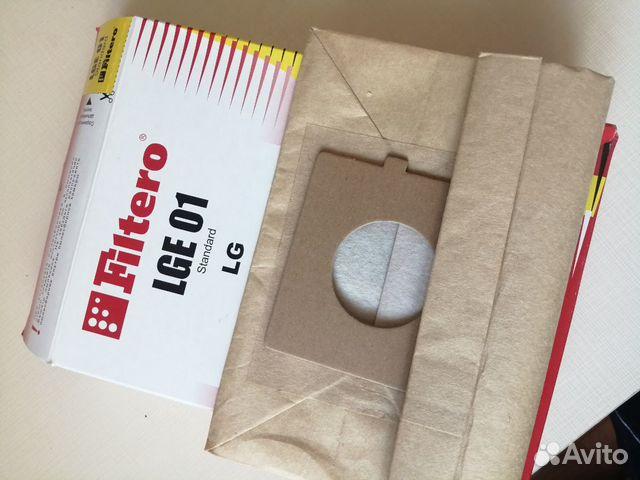 Мешок-пылесборник Filtero LGE 01 Standard 89243046454 купить 1