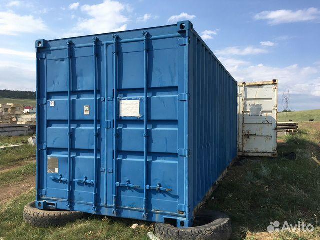 Морской контейнер 20 фут бытовка
