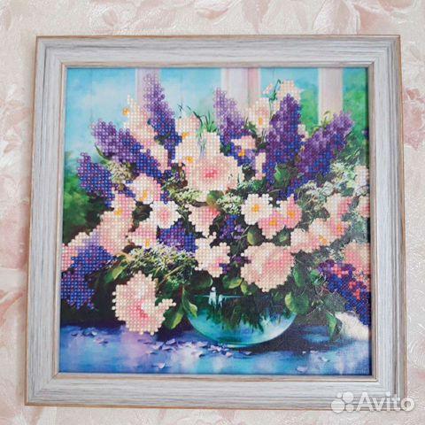 Картины алмазная вышивка и вышивка лентами  89158356890 купить 9