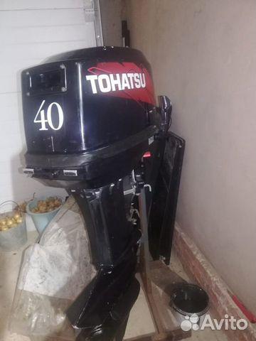 Мотор tohatsu 40