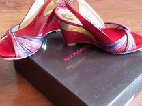 Туфли из натуральной кожи alla pugachova
