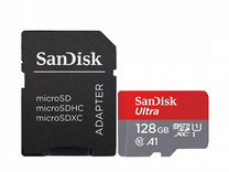 Карта памяти Micro SD 128Gb 80MB/s 533X SanDisk