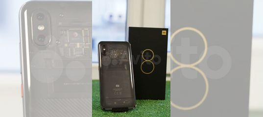 Xiaomi mi 8 PRO transparent titanium 8/128Gb купить в Красноярском крае   Бытовая электроника   Авито