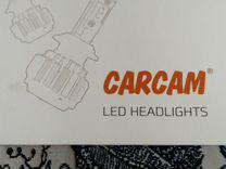 Комплект светодиодных ламп Н4 головного света — Запчасти и аксессуары в Самаре