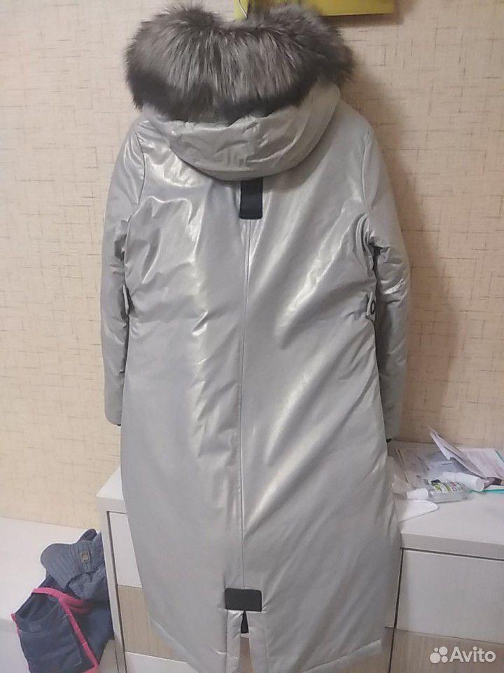Куртка парка зимняя 44 размер  89176521707 купить 2