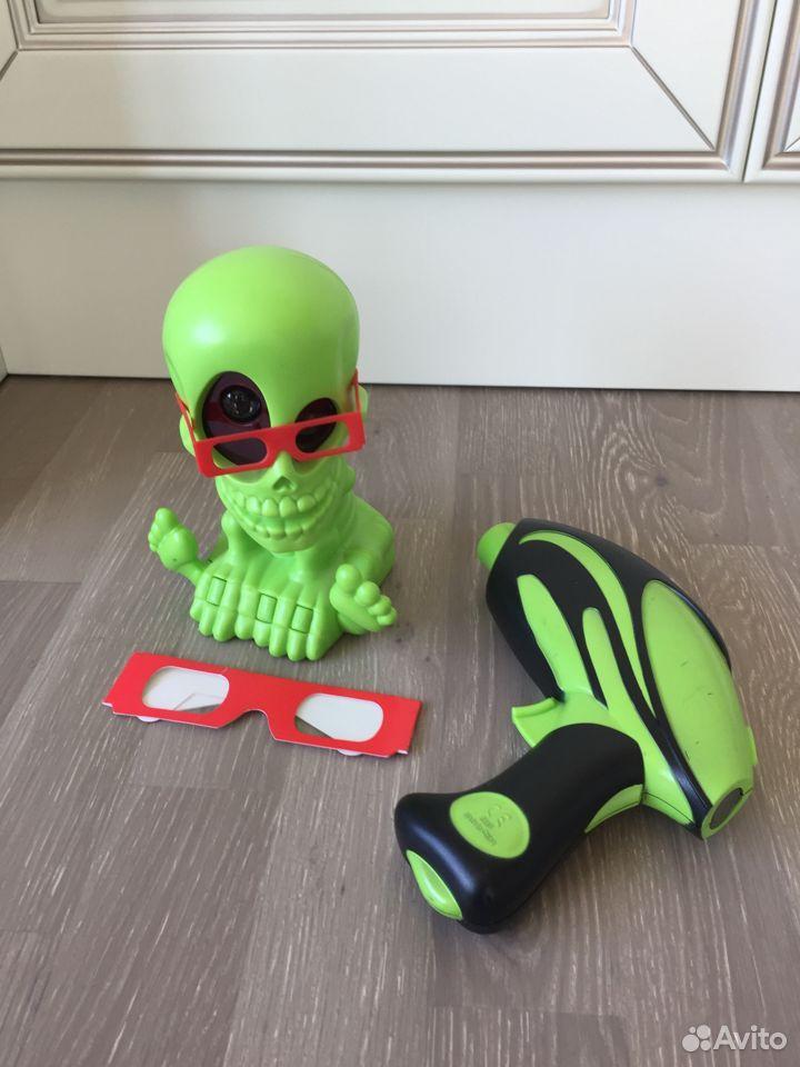 Тир Johnny the skull 3D интерактивный Джонни-череп  89039426544 купить 1