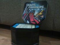Продам коробок с карточками Transformers Prime