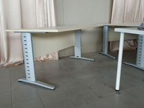 Стол с железными ножками 160*85, высота 75