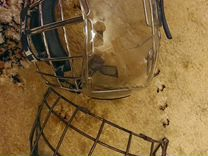 Шлем jofa 2 маски. белый 55-62р