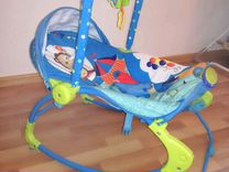 Детское кресло шезлонг