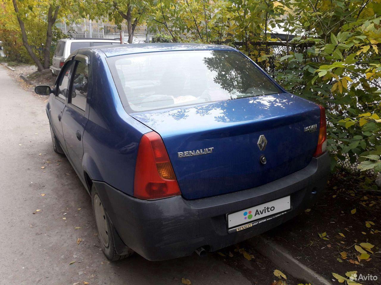 Renault Logan, 2007  89584912702 купить 1