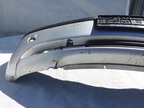 Бампер передний BMW E46 Рестайл серебро