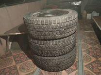 Продам Шины с дисками dunlop 195/55R15 — Запчасти и аксессуары в Перми