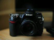 Фотоаппарат nikon d200 body