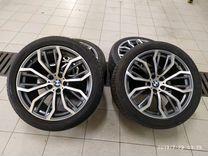 Комплект разношироких колёс на BMW