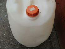 Канистра 50 л. пластиковая — Запчасти и аксессуары в Тюмени