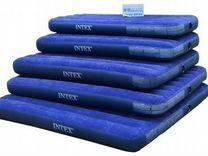 Односпальный / двуспальный надувной матрас Intex