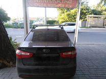 Багажник ED7 на KIA Rio+монтаж — Запчасти и аксессуары в Краснодаре