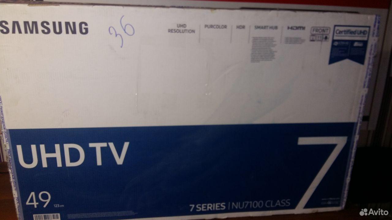 Samsung UE49NU7120U (битый) на запчасти  89210719004 купить 3