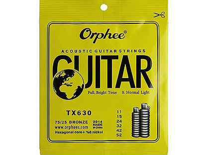Комплект струн для акустической Orphee TX630